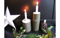 panka&pietro acer candle gyertyás karácsonyi dísz