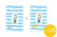 Fésűs Éva: Csupafül 22 meséje mesekönyv lapozgató színező csomag panka&pietro