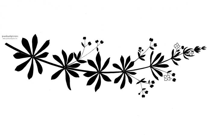 panka&pietro galaj galium terítő letörölhető vízálló design